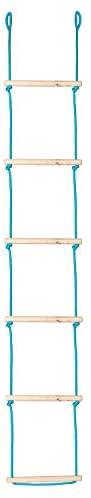 Climbing Ninja Ladder for Kids - Backyard Playground Rope Ladder for Swing Set