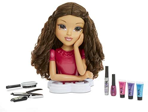Moxie Girlz Magic Hair Makeover Sophina 4-in-1 Styling Head