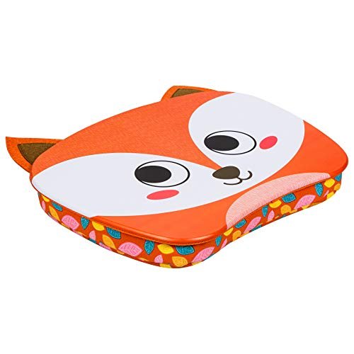 LapGear Lap Pets Lap Desk for Kids - Fox - Fits Up to 15.6 Inch Laptops - Style No. 46706