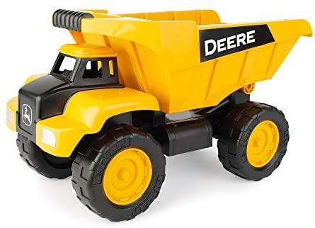 John Deere Big Scoop Dump Truck, 15 Inch, Yellow