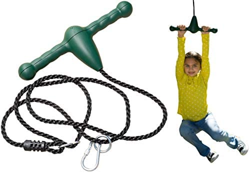 Jungle Gym Kingdom Trapeze Bar Rope Swing and Spin