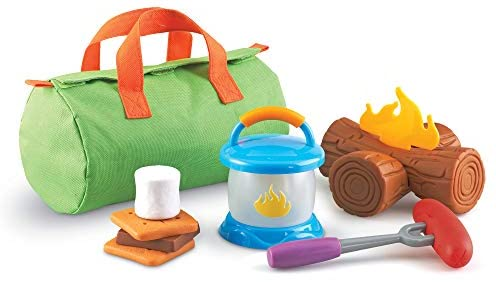 Learning Resources New Sprouts Camp Out!, Imaginative Play, Camping Toy, Outdoor Toys, 11 Pieces, Ages 2+
