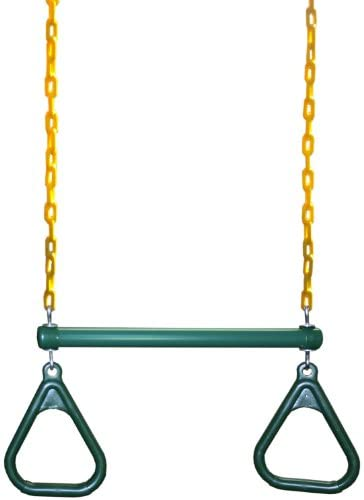 Eastern Jungle Gym Heavy-Duty Ring Trapeze Bar Combo Swing ,Large 20