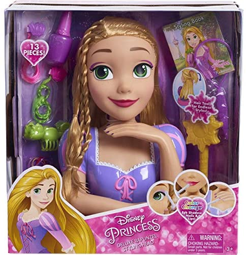 Disney Princess Deluxe Rapunzel Styling Head