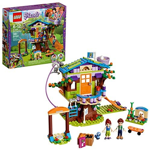 LEGO Friends Mia's Tree House 41335 Creative Building Toy Set for Kids, Best Learning and Roleplay Gift for Girls and Boys (351 Pieces) (Renewed)