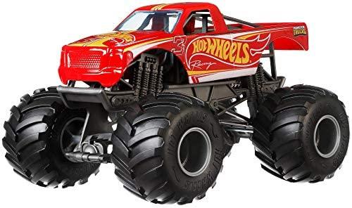 Hot Wheels Monster Trucks Racing Vehicle, Multicolor