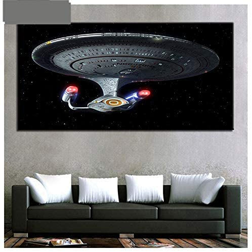 5D Diamond Painting Full Drill Star Trek DIY Kits for Adults Kids Crystal Rhinestone Arts Craft for Home Wall Decor Square Drill 80x220cm H12632