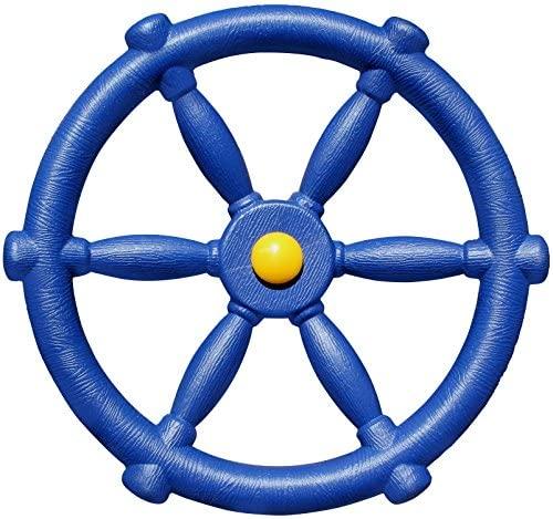 Jungle Gym Kingdom Pirate Ships Wheel (Blue)