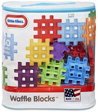 Little Tikes Waffle Blocks Bag (60 Piece)