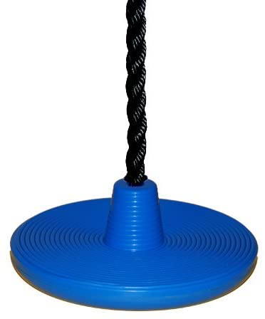 Playkids Daisy Disk Seat (Heavy Duty) + 17' Black Rope - 250 lb Weight Limit