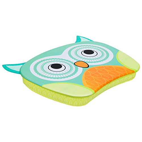LapGear Lap Pets Lap Desk for Kids - Owl - Fits Up to 15.6 Inch Laptops - Style No. 46702