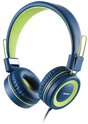 Mpow CH8 Kids Headphones, Volume Limiter & Hearing Protection, Light Weight Comfortable On-Ear Headsets W/Foldable and Durable Earphones for Toddlers,Children,School,Kindle,Travel