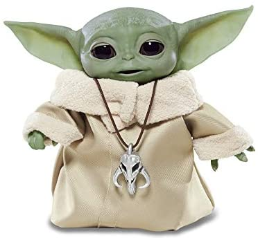 "Star Wars The Child Animatronic Edition ""AKA Baby Yoda"" with Over 25 Sound and Motion Combinations, The Mandalorian Toy for Kids Ages 4 and Up"