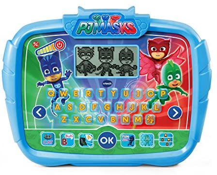 VTech PJ Masks Time to Be A Hero Learning Tablet, Great Gift for Kids, Toddlers, Toy for Boys and Girls, Ages 3, 4, 5, 6