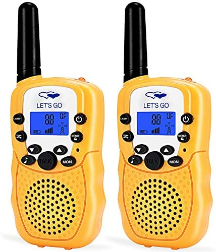 ATOPDREAM Long Range Walkies Talkies for Kids D388 - Best Gifts