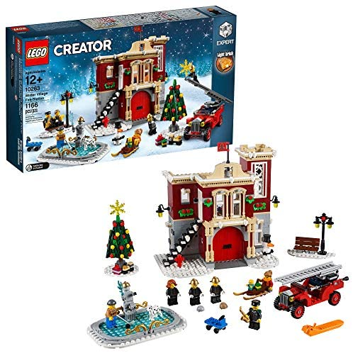 LEGO Creator Expert Winter Village Fire Station 10263 Building Kit (1166 Pieces)