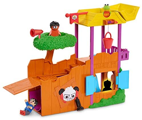 Awesome Playset Full of Fun Surprises Ultimate Tree House with Four Characters and 5 Accessories - Go Make Up Your Own Fun Story Plays!