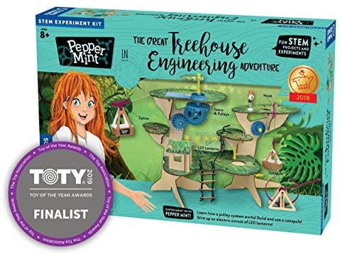 Thames & Kosmos 626020 Pepper Mint in The Great Treehouse Engineering Adventure Science Experiment Kit
