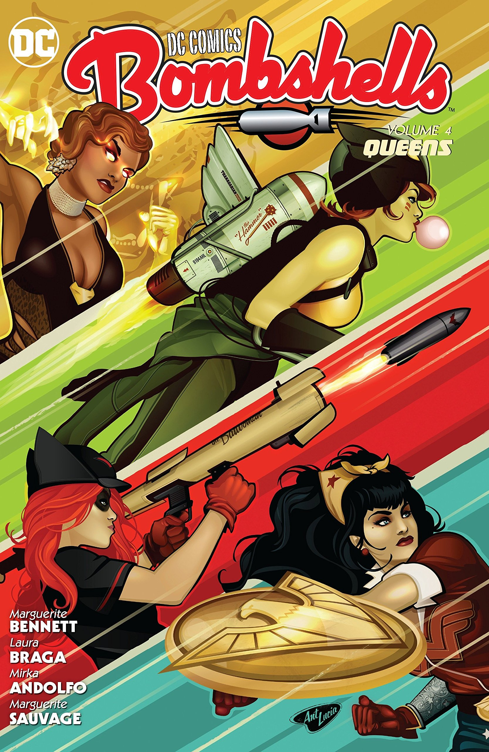 DC Comics: Bombshells Vol. 4: Queens