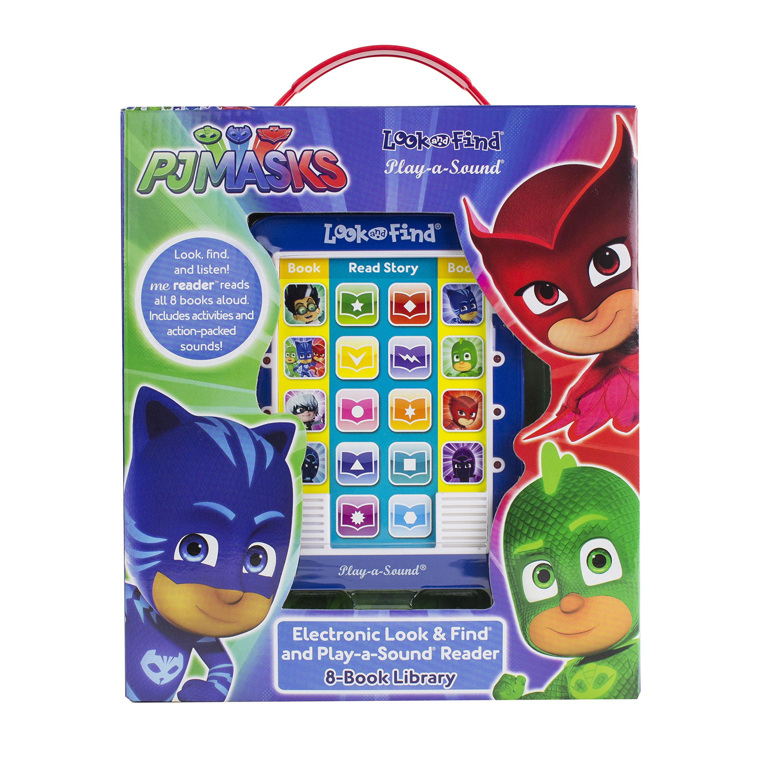 PJ Masks - Me Reader Electronic Reader and 8 Sound Book Library - PI Kids